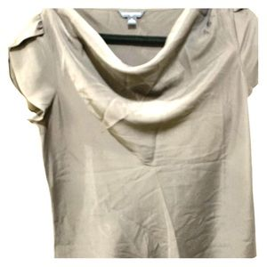 Banana republic cowl drape neck top